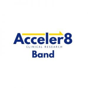Acceler8band logo